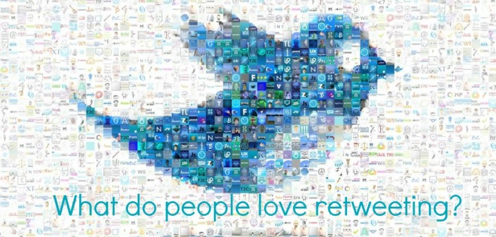 what do pople love retweeting