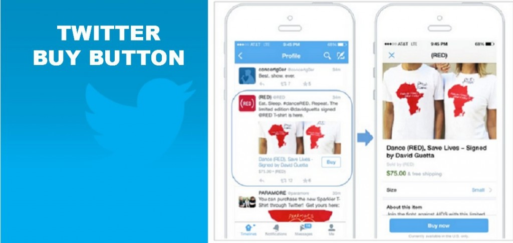 Twitter tests Buy button