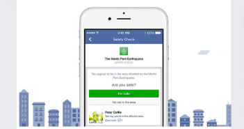 Facebook Introduced Safety Check