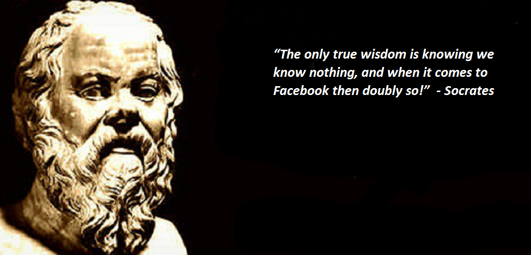 Socrates teaches us how to run adverts on Facebook!