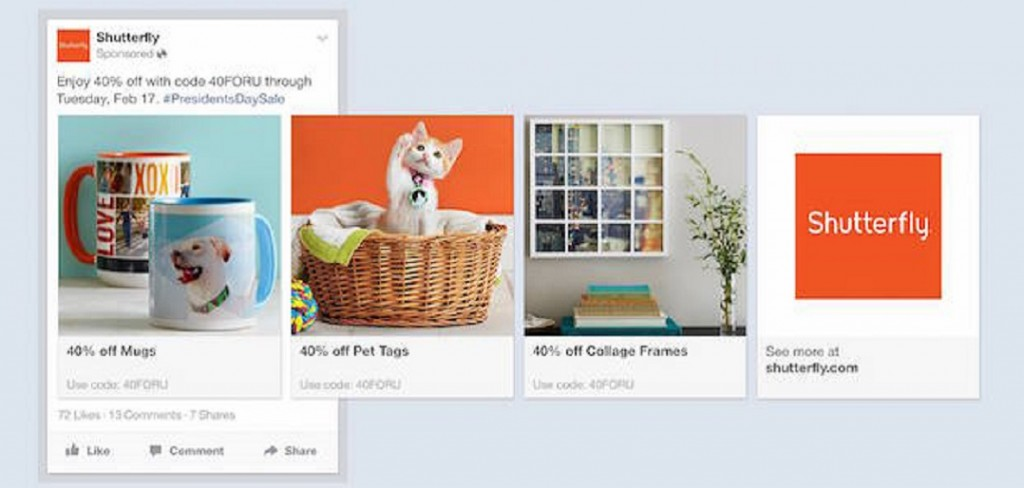 Facebook announced New Product Ads