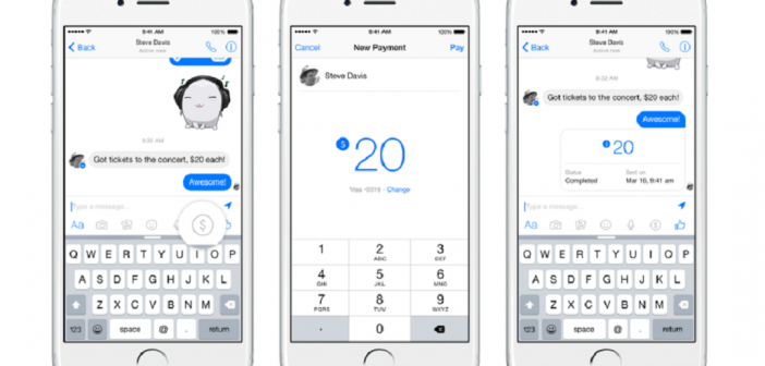 pay people with Facebook Messenger